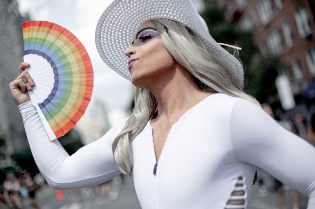 Drag Queen beim CSD in New York