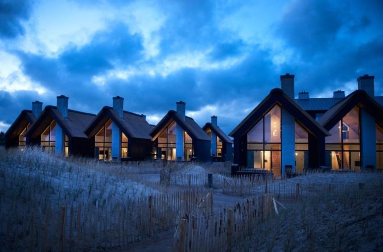 Ferienhäuser im Hvidbjerg Strand Feriepark, Dänemark