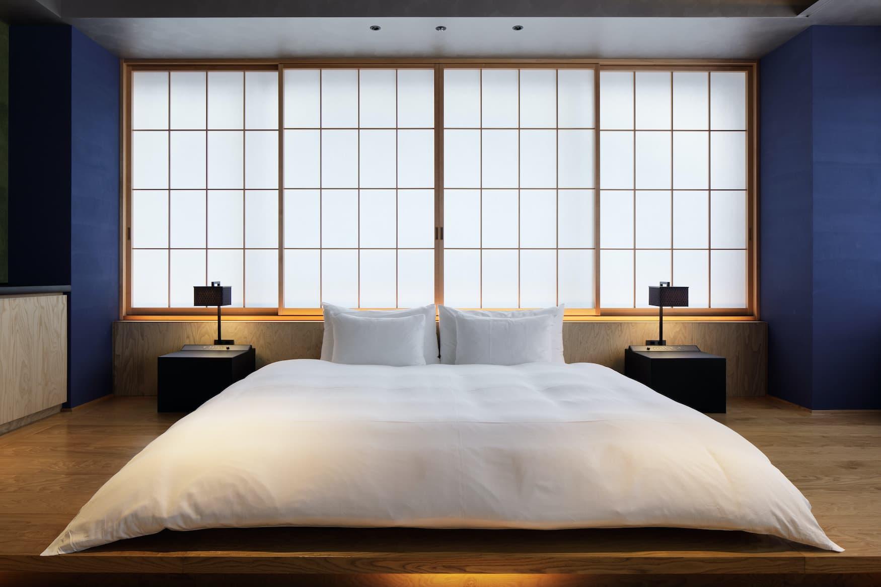 Ein Architekturhotel der etwas anderen Sorte: Das Hoshinoya Tokio ist im klassischen Ryokan-Gästehaus-Stil errichtet