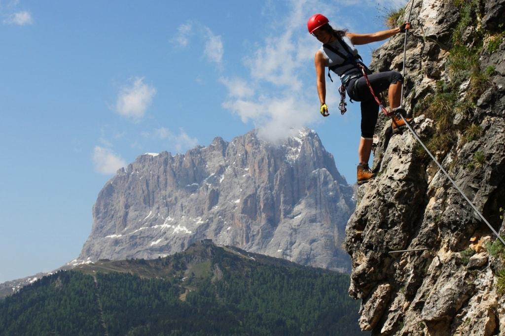 Die spektakulärsten Klettersteige in den Dolomiten