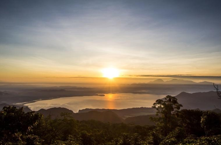 Lago Yojoa in Honduras