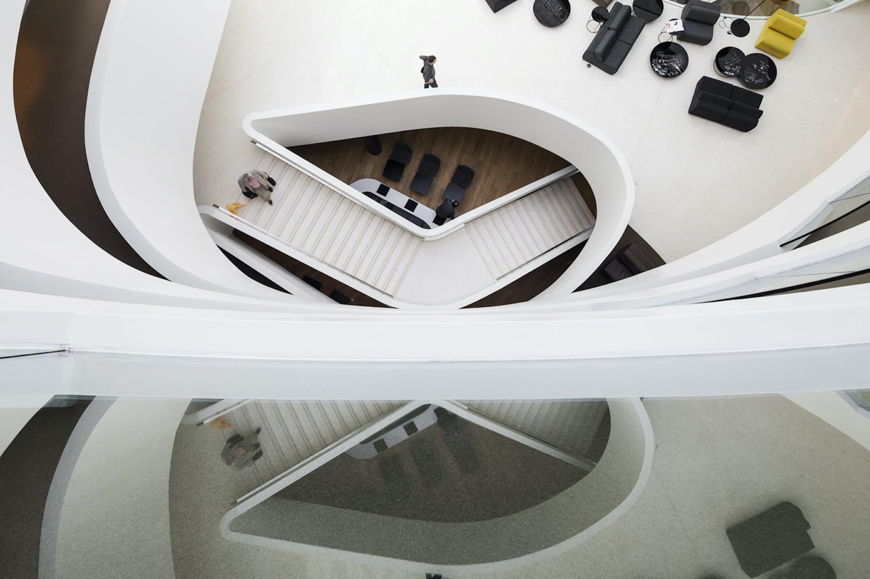Kurvenreiches Interior: Das Architekturhotel Lone im kroatischen Rovinj