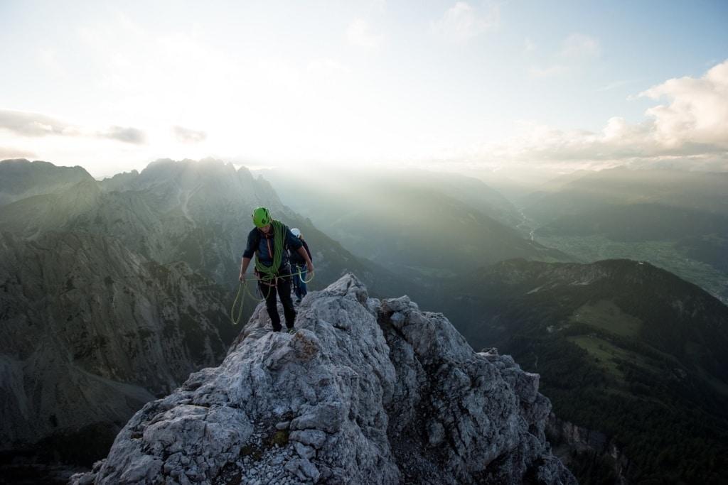 Osttirol hat einige tolle Klettersteige zu bieten.