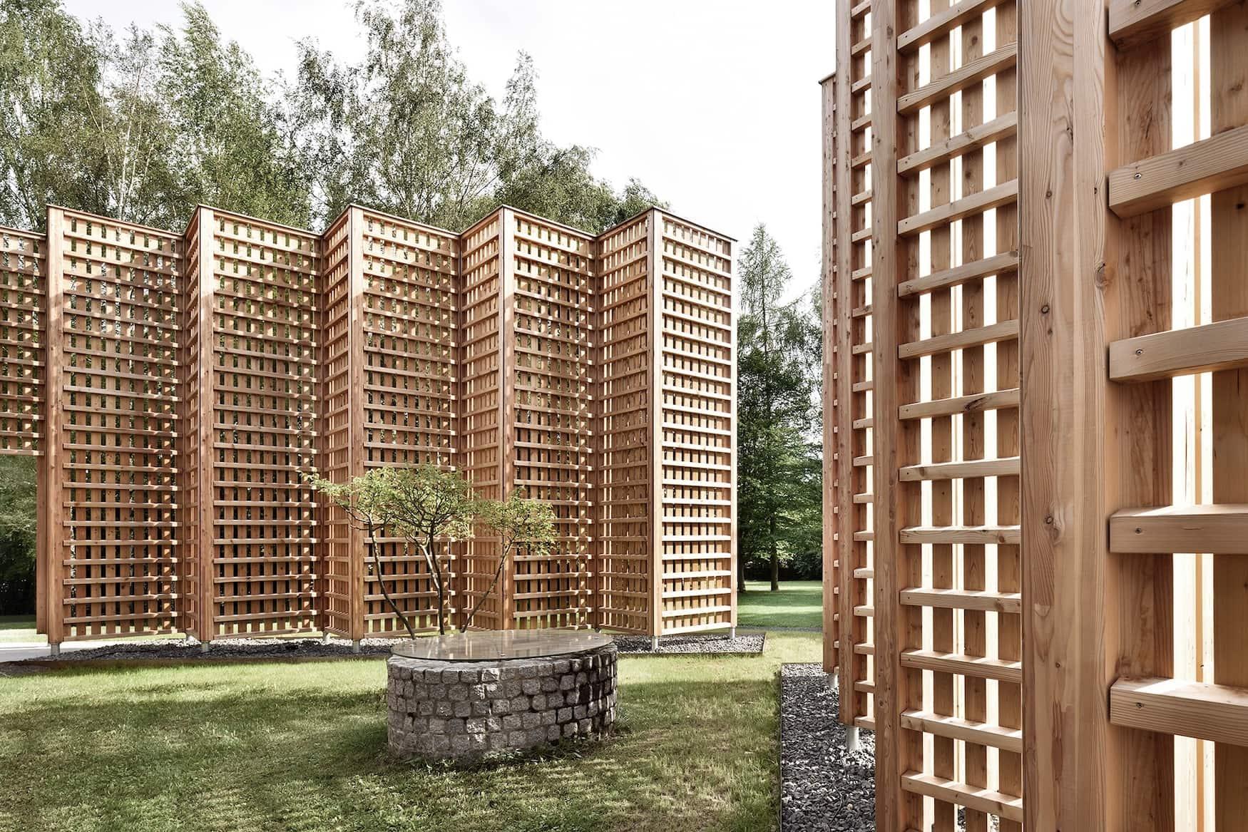 Im Architekturhotel Biohotel Sturm setzt man auf natürliche Materialien