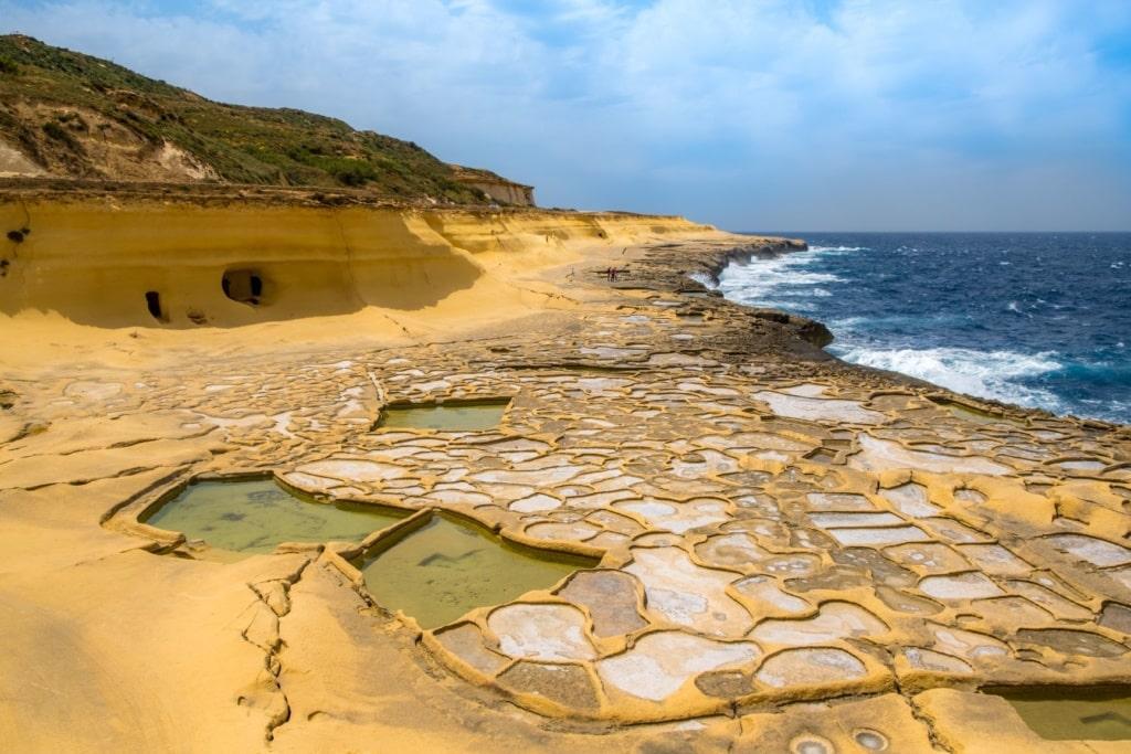 Salzpfannen auf Malta
