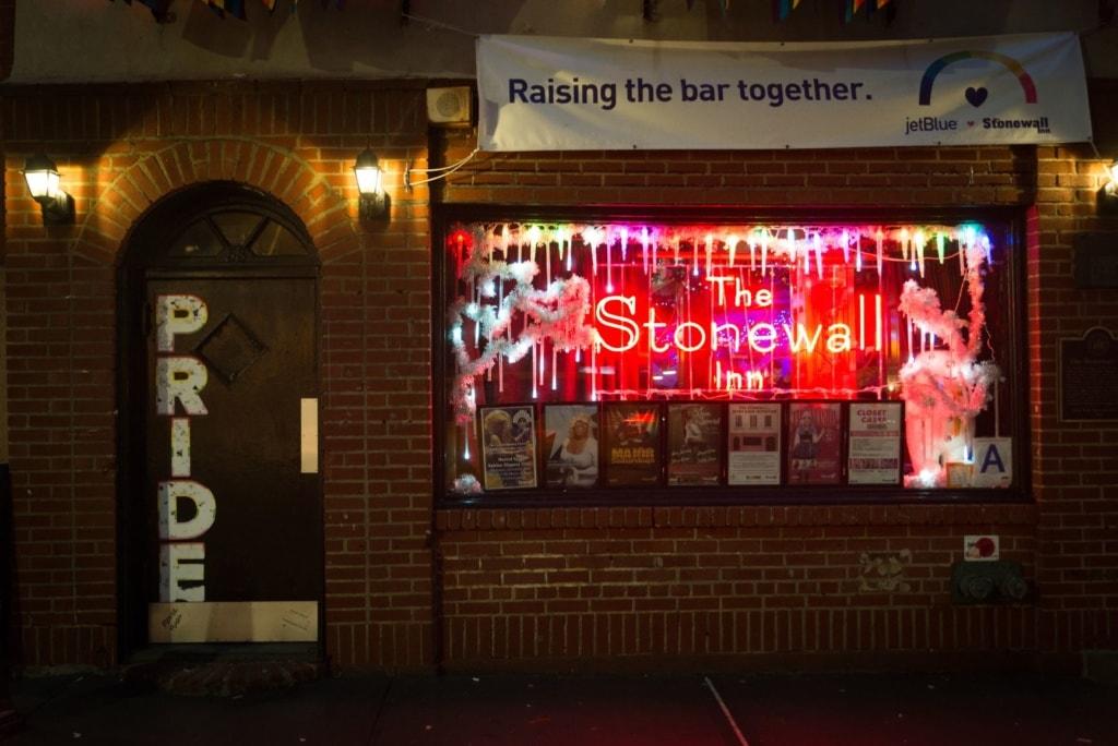 Schwulenbar Stonewall Inn in New York City