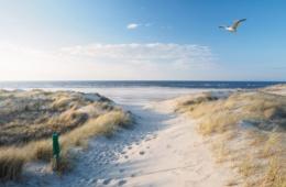 Strand, Dünen und Nordsee