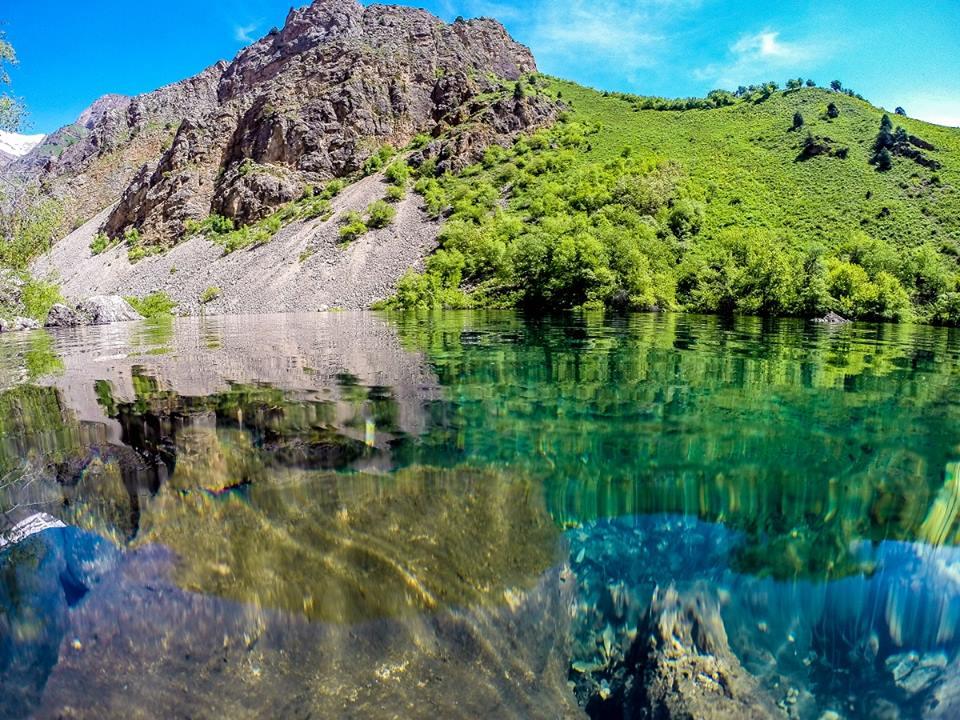 Alpensee Kleiner Urungatsch Usbekistan