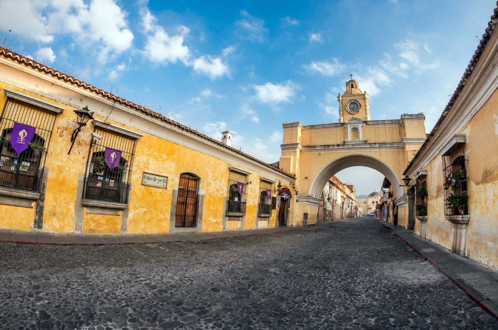 Unesco-Welterbestätten in Mittelamerika: Antigua in Guatemala