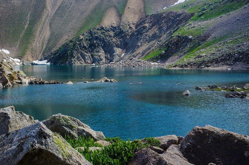 Araschan-See in Usbekistan