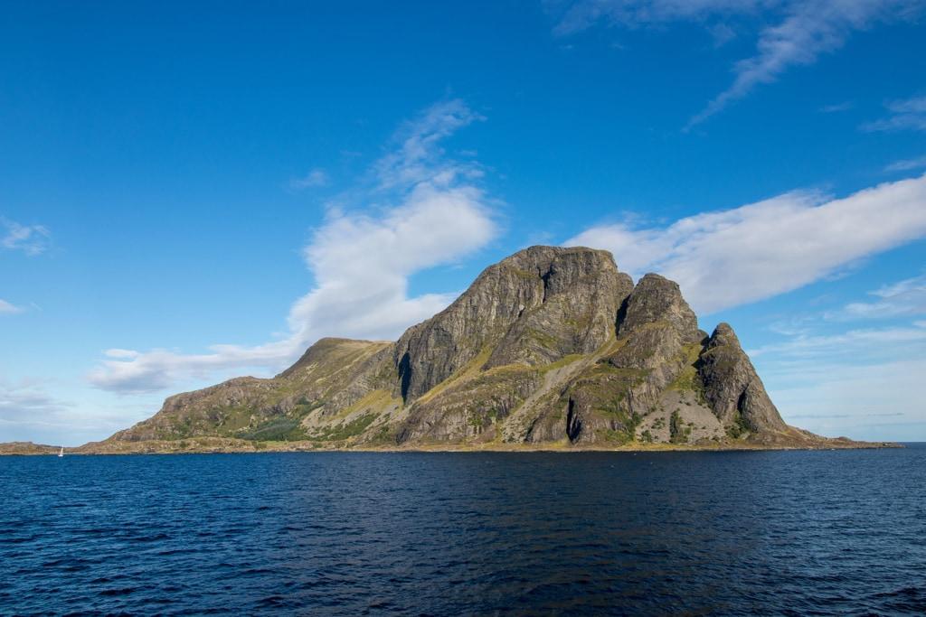 Insel Askvoll in Norwegen