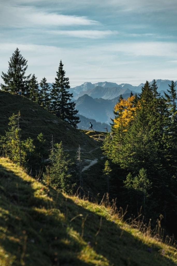 Wandern in Deutschland: Baumgartenschneid am Tegernsee