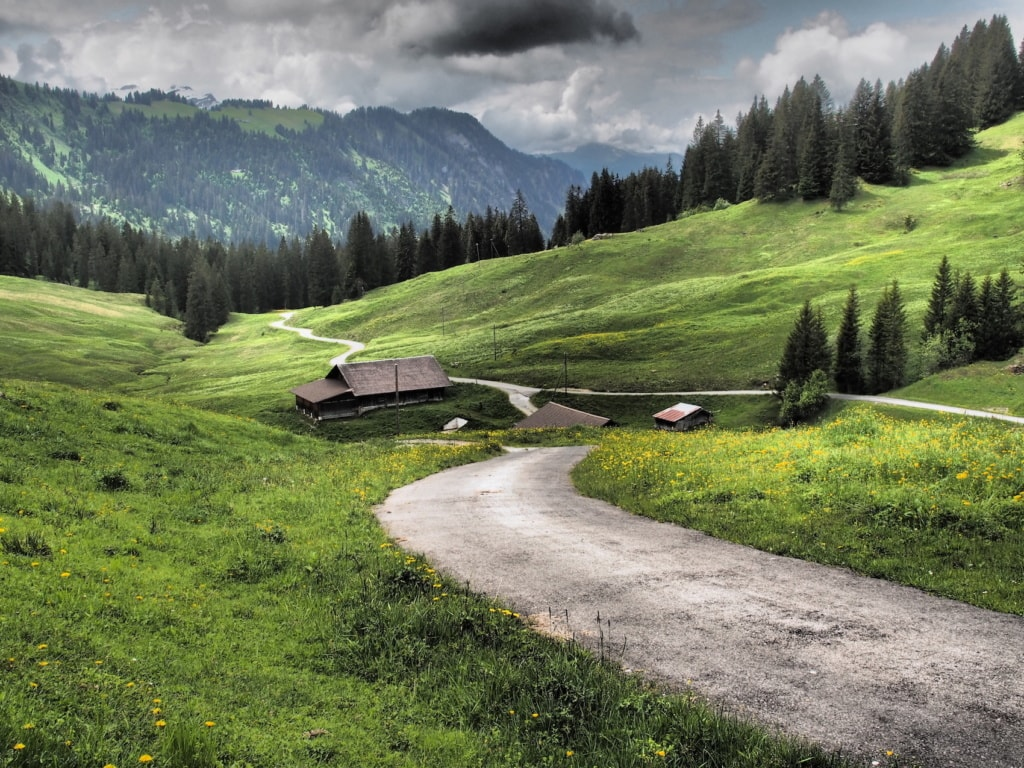 Willkommen im Moor in Hackern in der Schweiz.