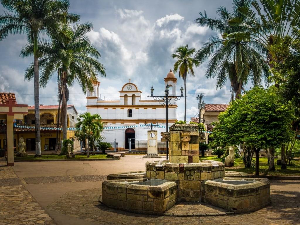 Copan Ruinas in Honduras