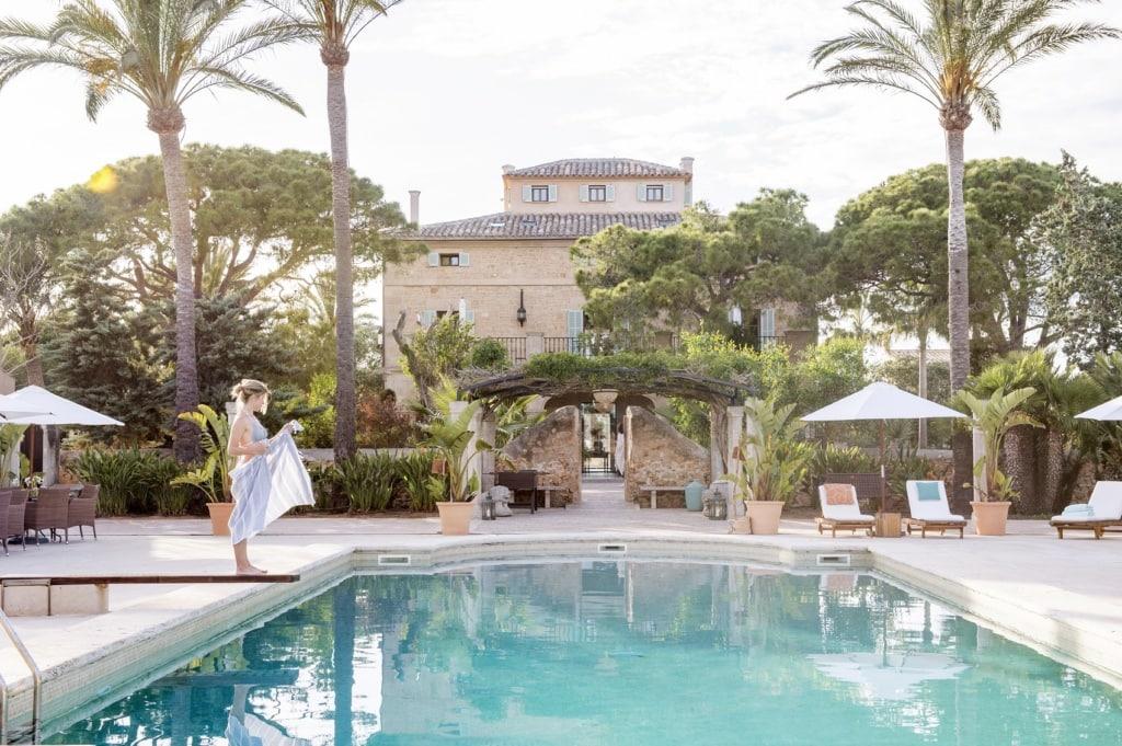 Eines unserer liebsten Luxushotels weltweit ist das Cal Reiet auf Mallorca.
