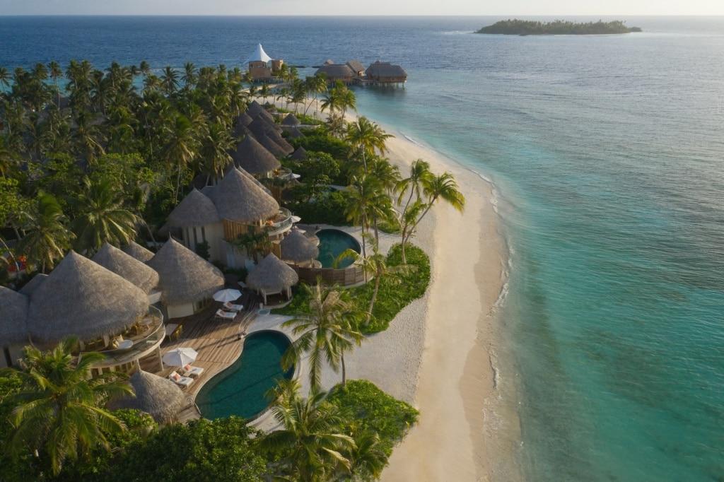 Unsere Luxushotels weltweit: The Nautilus Maledives.