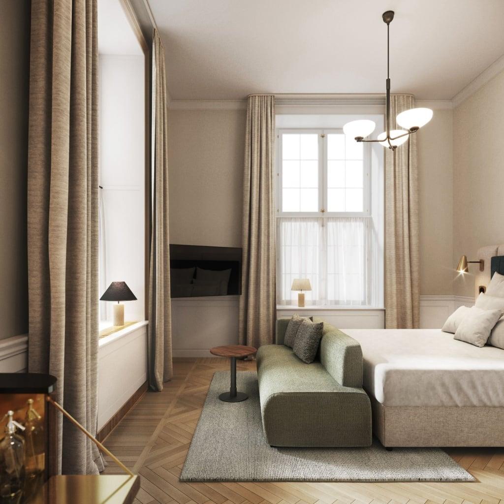 Schickes Design erwartet die Gäste in der Villa Copenhagen.