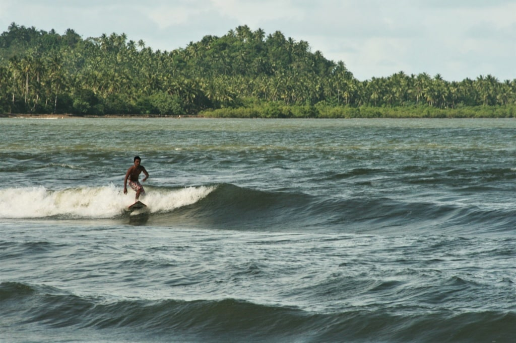 Borongan in den Eastern Visayas ist Hotspot der lokalen Surfszene.