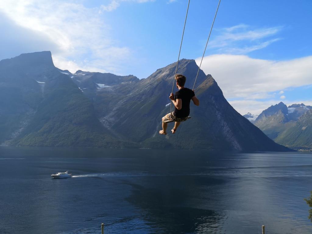 Schlafen in Norwegen: Wo die Berge Kopf stehen