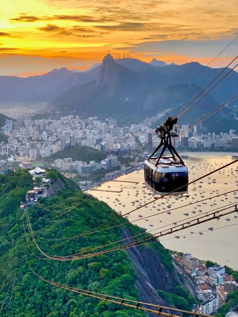 Seilbahn in Rio de Janeiro