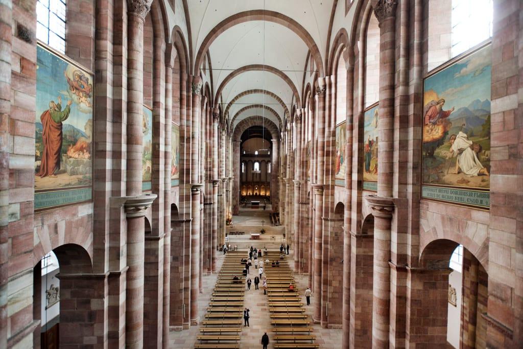 Dom zu Speyer, Blick von der Empore