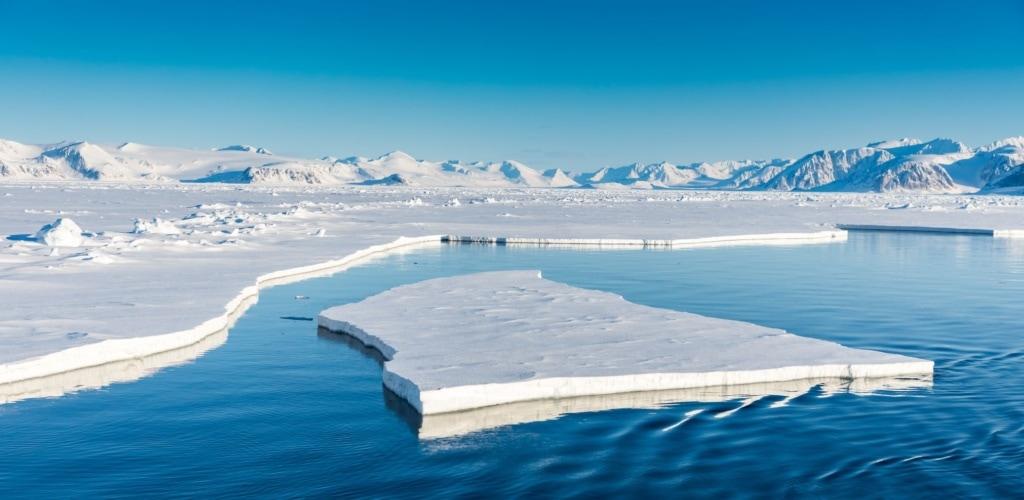 Spitzbergen im Sommer