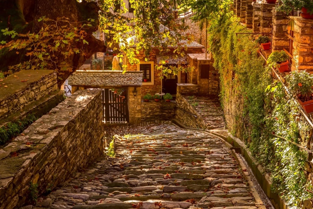Griechenland mystisch schön: Dorf Makrinitsa