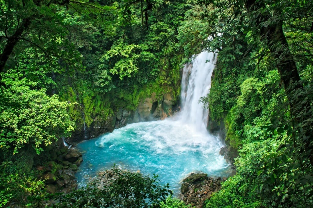 Wasserfall im Tenorio Nationalpark in Costa Rica