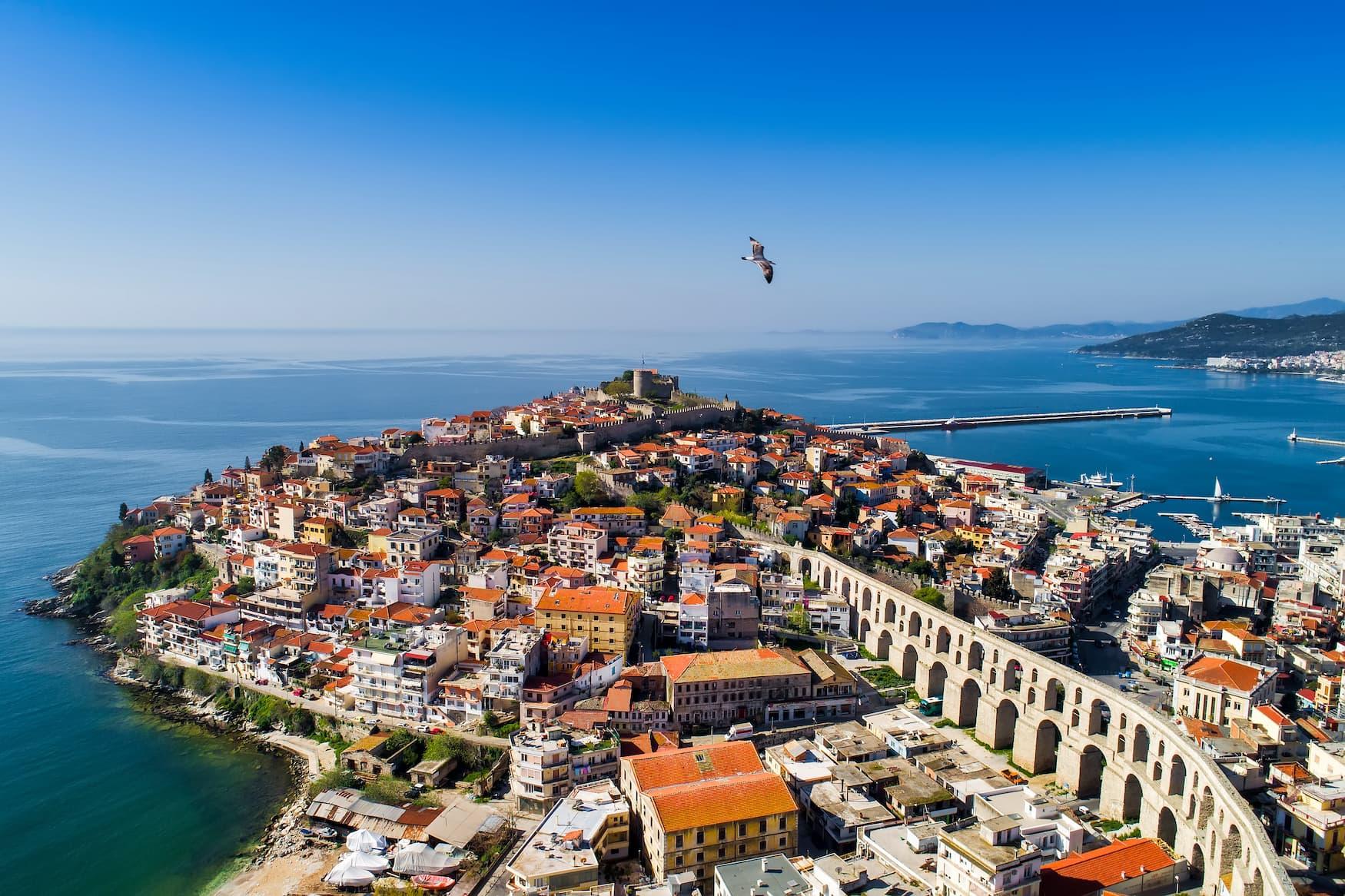 Kavala in Nordgriechenland gehört zu den Griechenland Geheimtipps