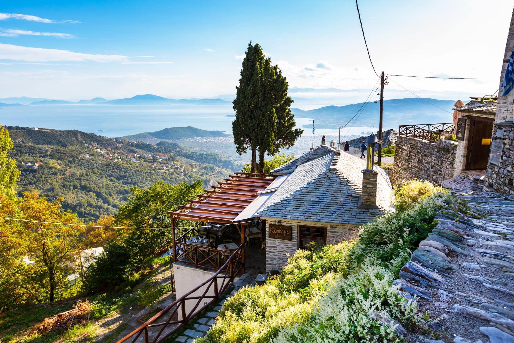 Das Dorf Makrinitsa auf der Insel Billion ist noch ein echter Geheimtipp in Griechenland