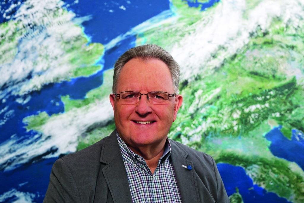 DWD-Meteorologe Andreas Friedrich