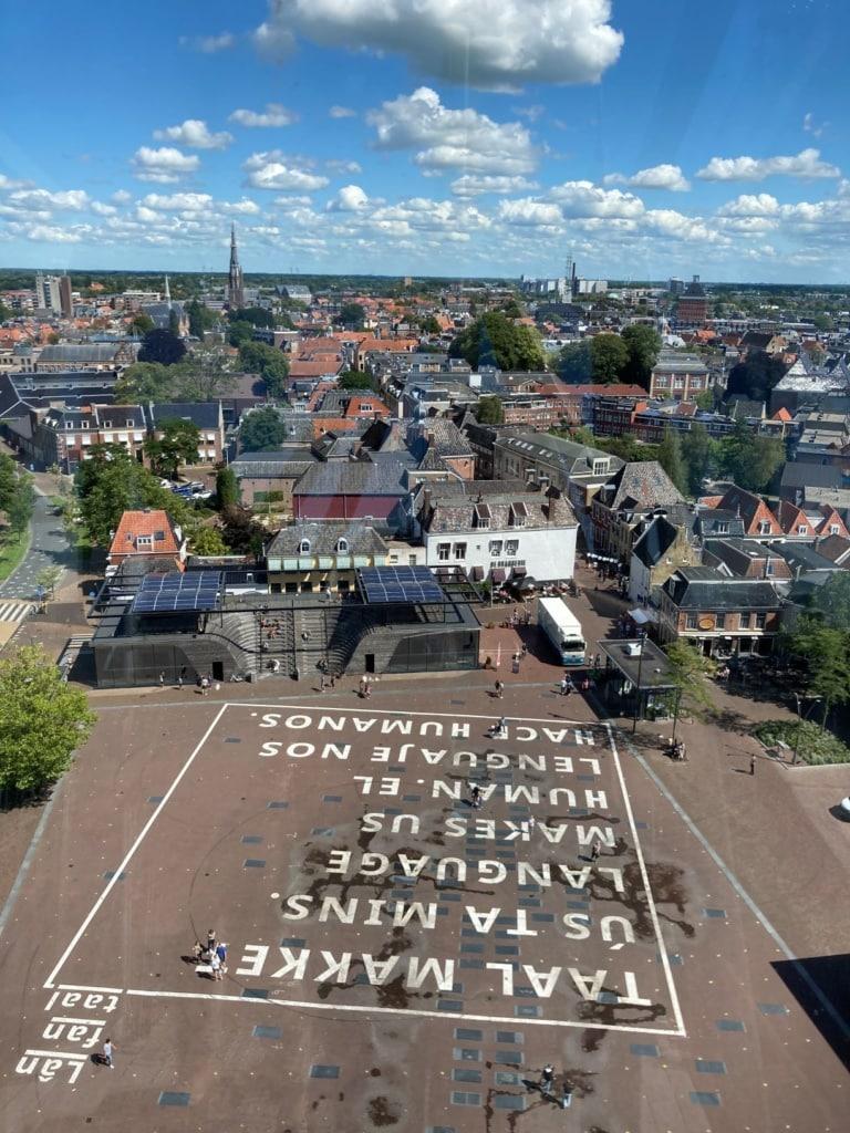 Aussicht auf Leeuwarden