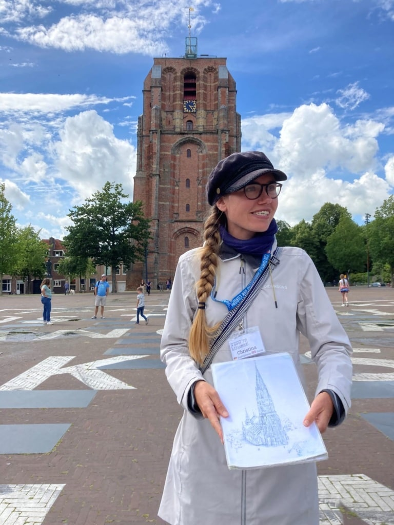 Christina, Tour-Guide in Leeuwarden