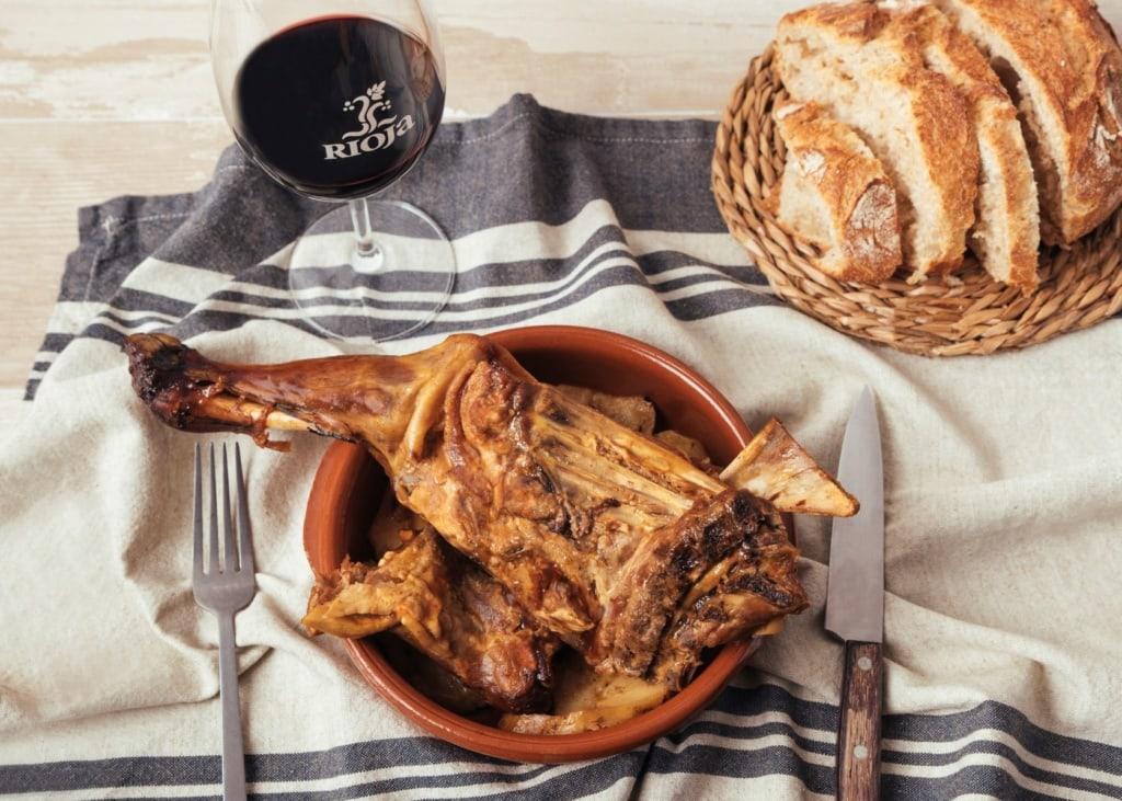 Schweinerippchen aus Rioja, Cordero