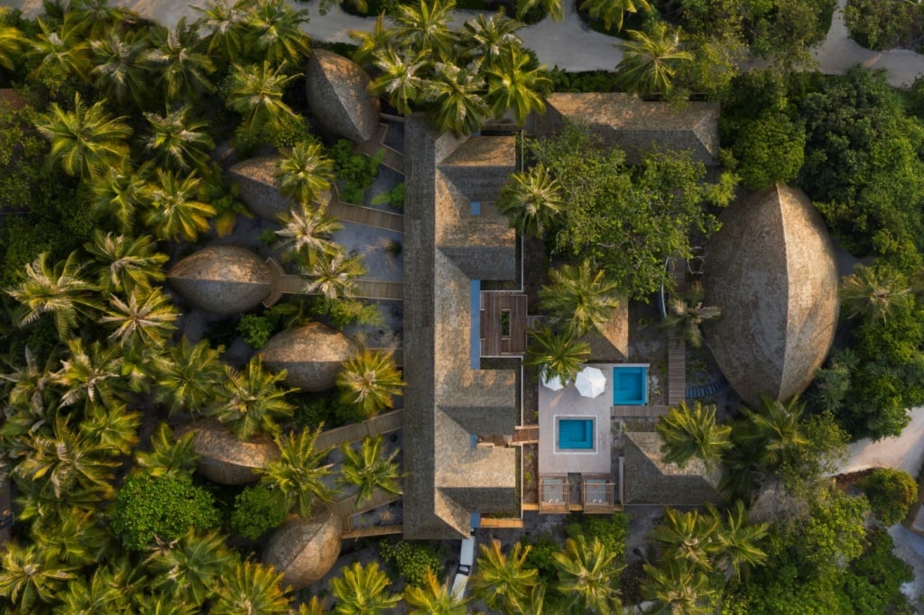 Luftaufnahme aus dem Faarufushi