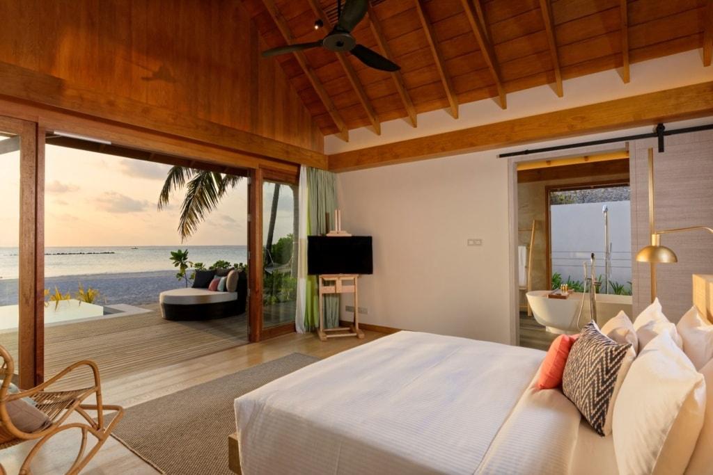 Suite im Faarufushi Malediven