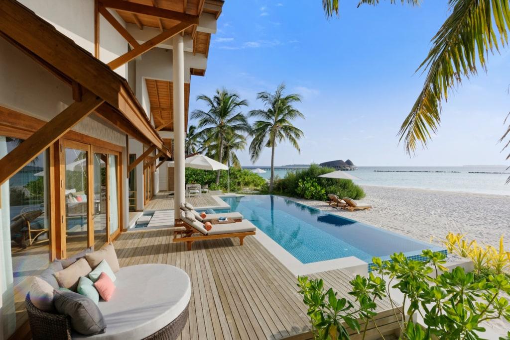 Ein Traum von Villa auf den Malediven: das Faarufushi