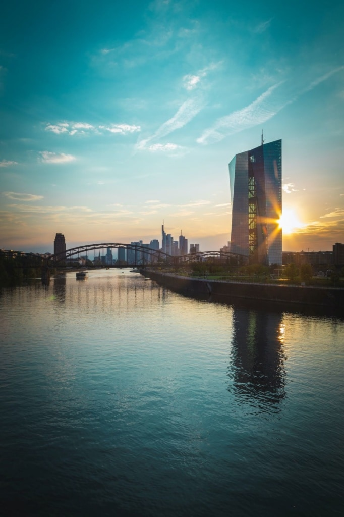 Fluss Main in Frankfurt