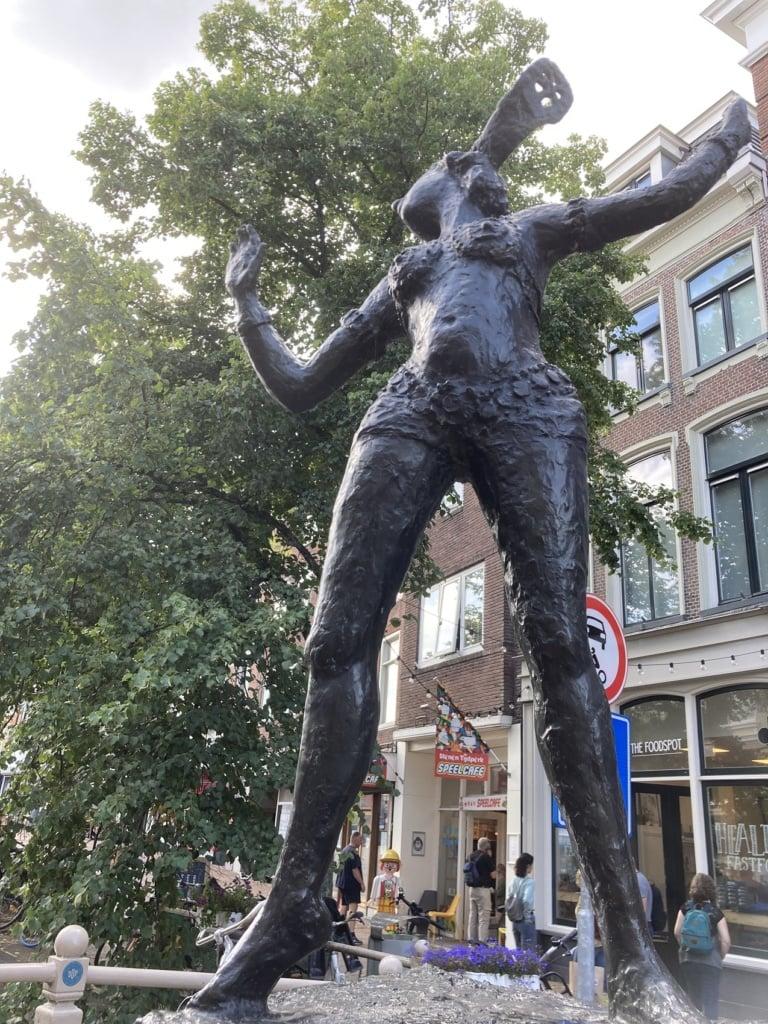 Mata Hari ist eine der brühmten Einwohnerinnen Leeuwardens in Friesland.