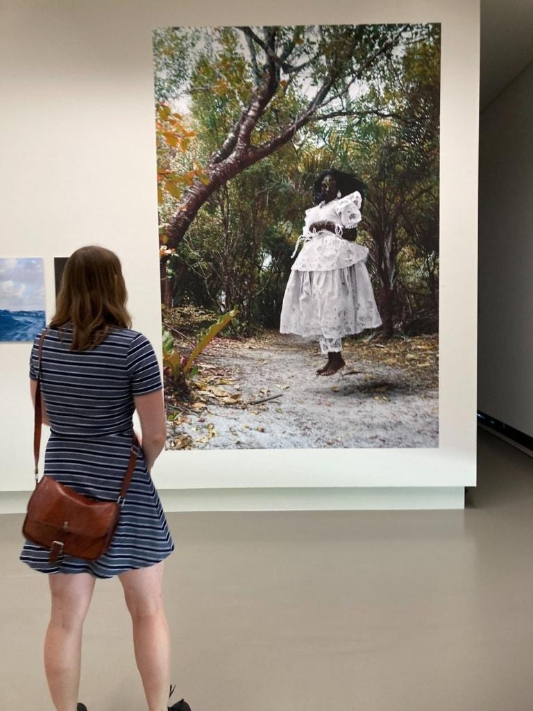 Im Museum Belvedere wartet moderne Kunst.