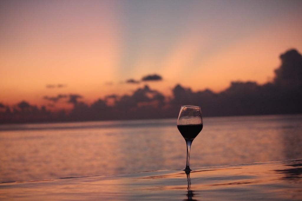 Ein Gläschen in Ehren kann man im Faarufushi ganz gewiss nicht verwehren.