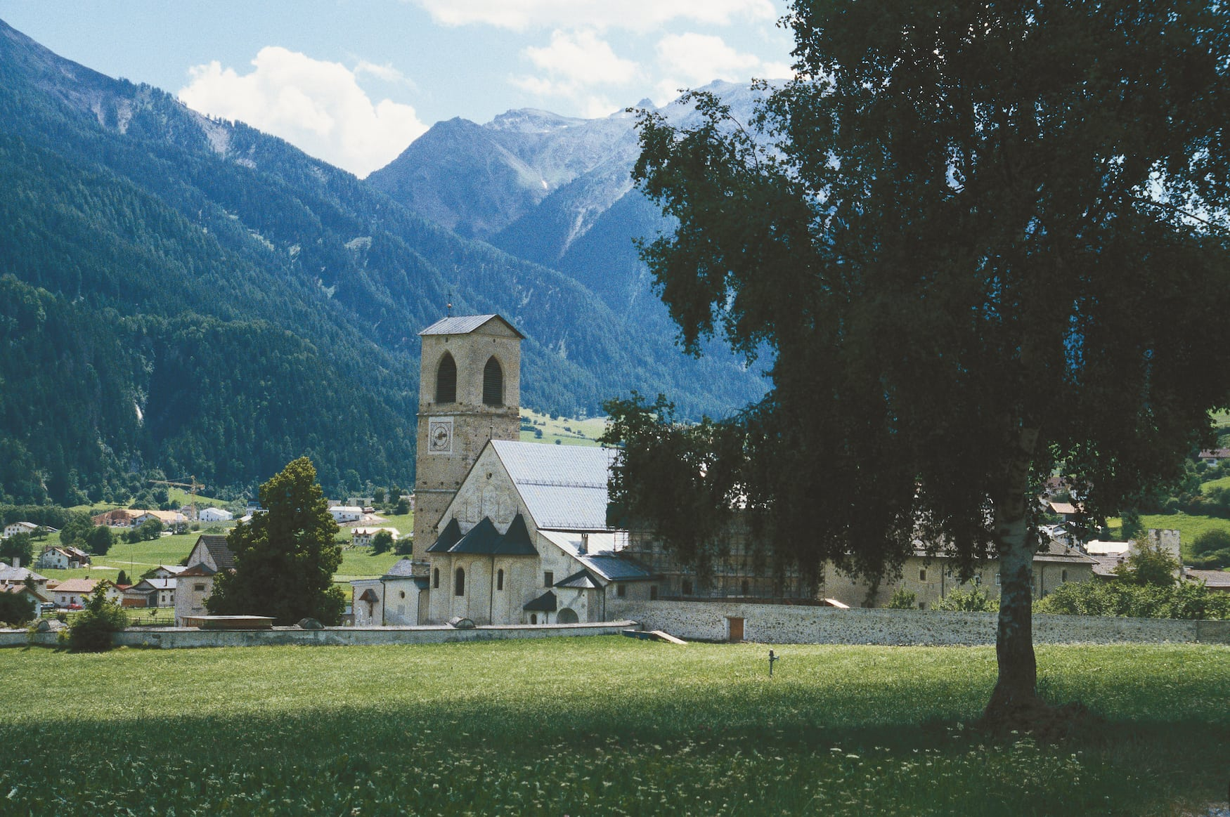Kloster St. Johann, UNESCO Weltkulturerbe in Muestair, Schweiz