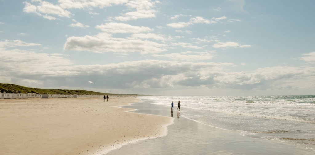Camping in Dänemark: Lokken Strand