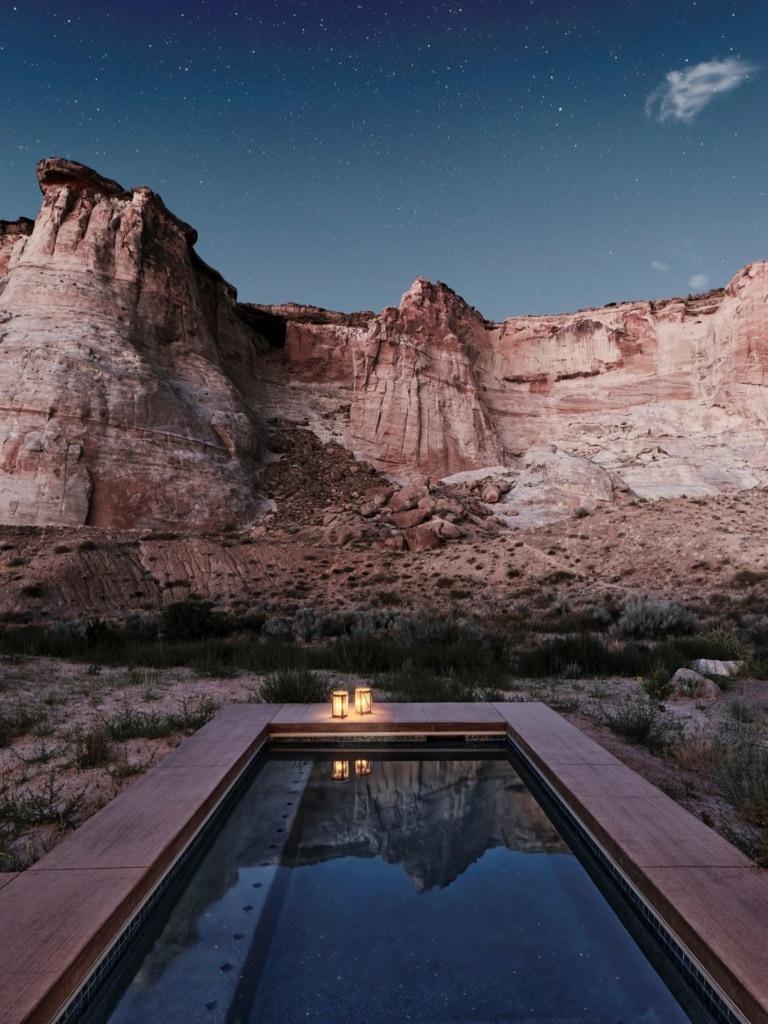 Privater Pool im Luxusresort Camp Sarika