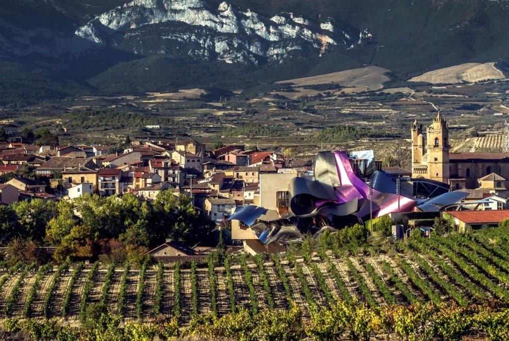 Rioja Alavesa Bodegas Marqués de Riscal