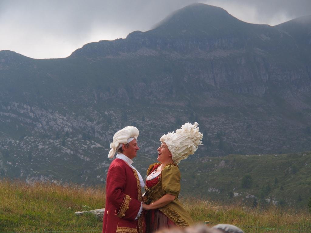 Beim Musikfestival Sounds of the Dolomites in den Bergen Italiens kommen Hochgefühle auf.