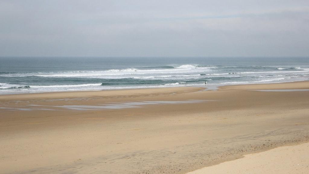 Strand an Frankreichs Atlantikküste