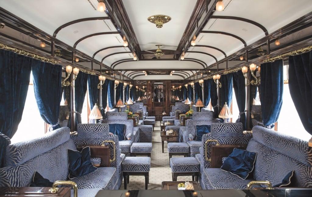 Aufenthalswaggon im Venice Simplon-Orient-Express