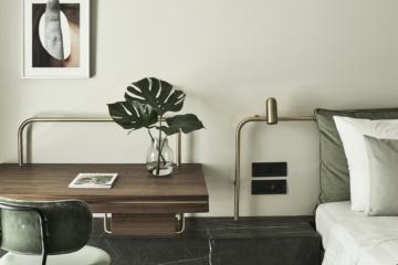 Moderne Inneneinrichtung im Designhotel Perianth in der griechischen Hauptstadt Athen