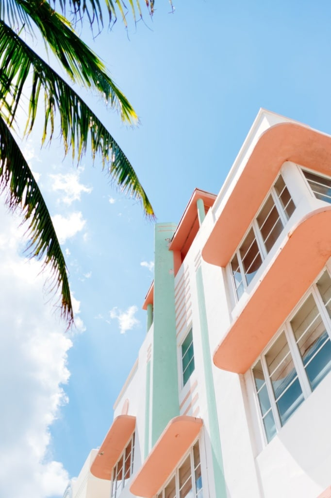Art-Deco-Haus in Miami